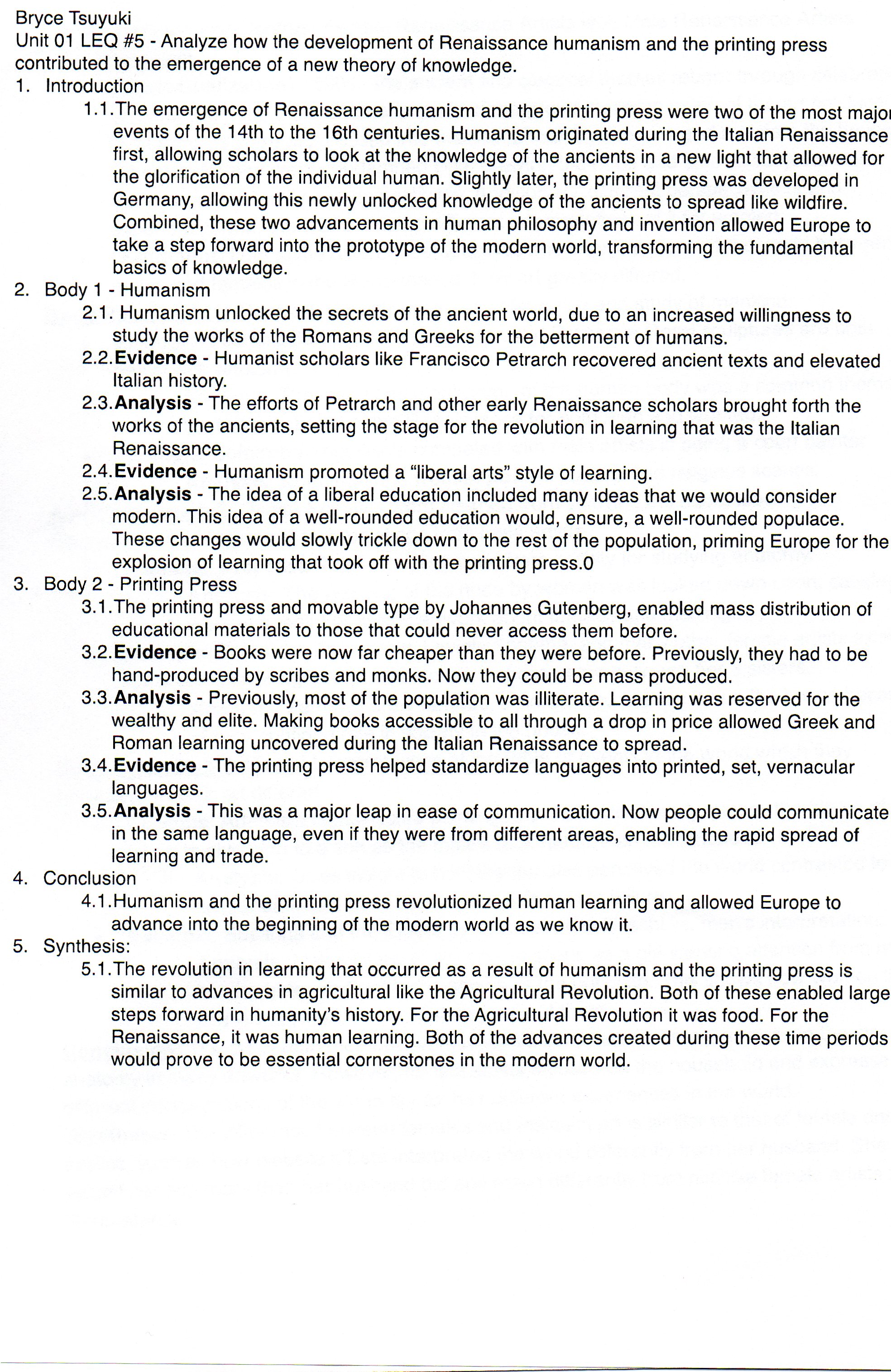 ap world dbq essay Students in ap world history are expected to be able to write three different types of essays: a document-based question (or dbq), a change-over-time essay, and a comparative essay you can probably gather from the names what you need to do in each essay – the document-based question provides you with a set of.