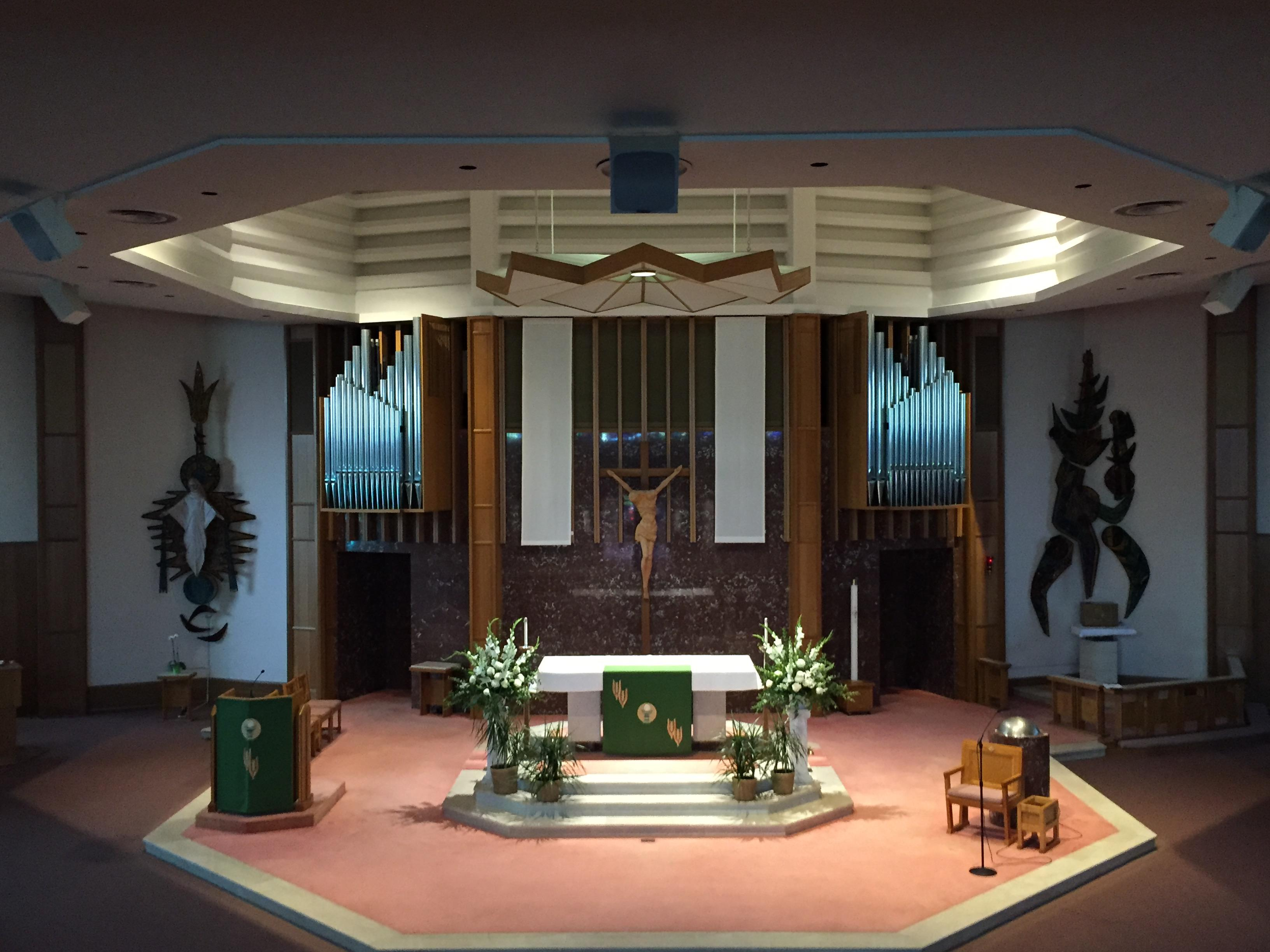 Tour Of Our Church About Us Our Lady Of Grace Catholic Church