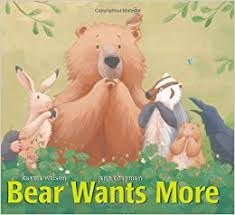 Image result for bear wants more