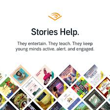 Audible - Stories help