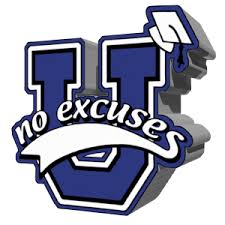 Image result for no excuses university