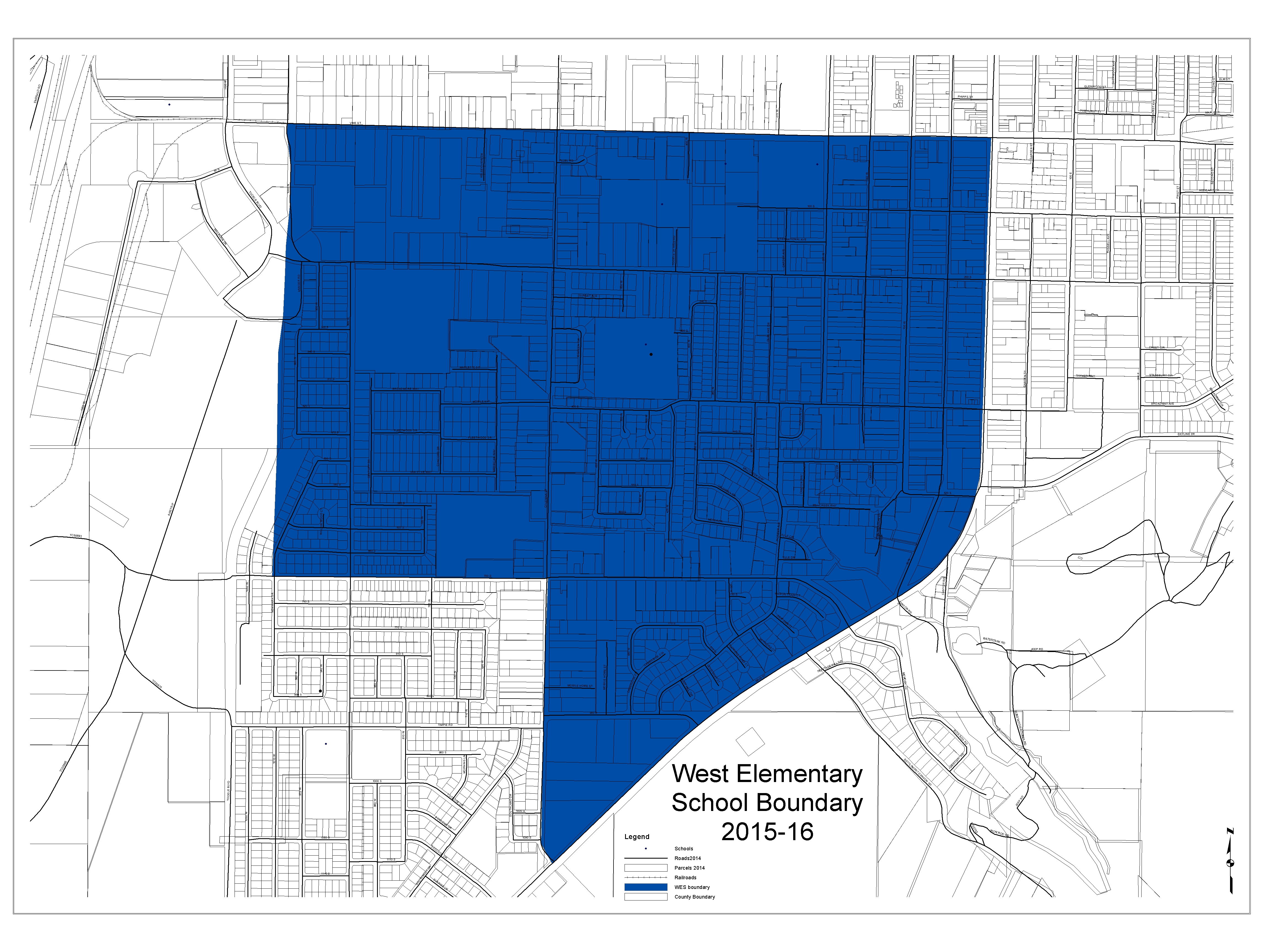 School Boundaries  About TCSD  Tooele County School District