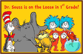 Image result for welcome to first grade dr. seuss