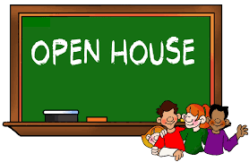 Image result for free clipart open house school