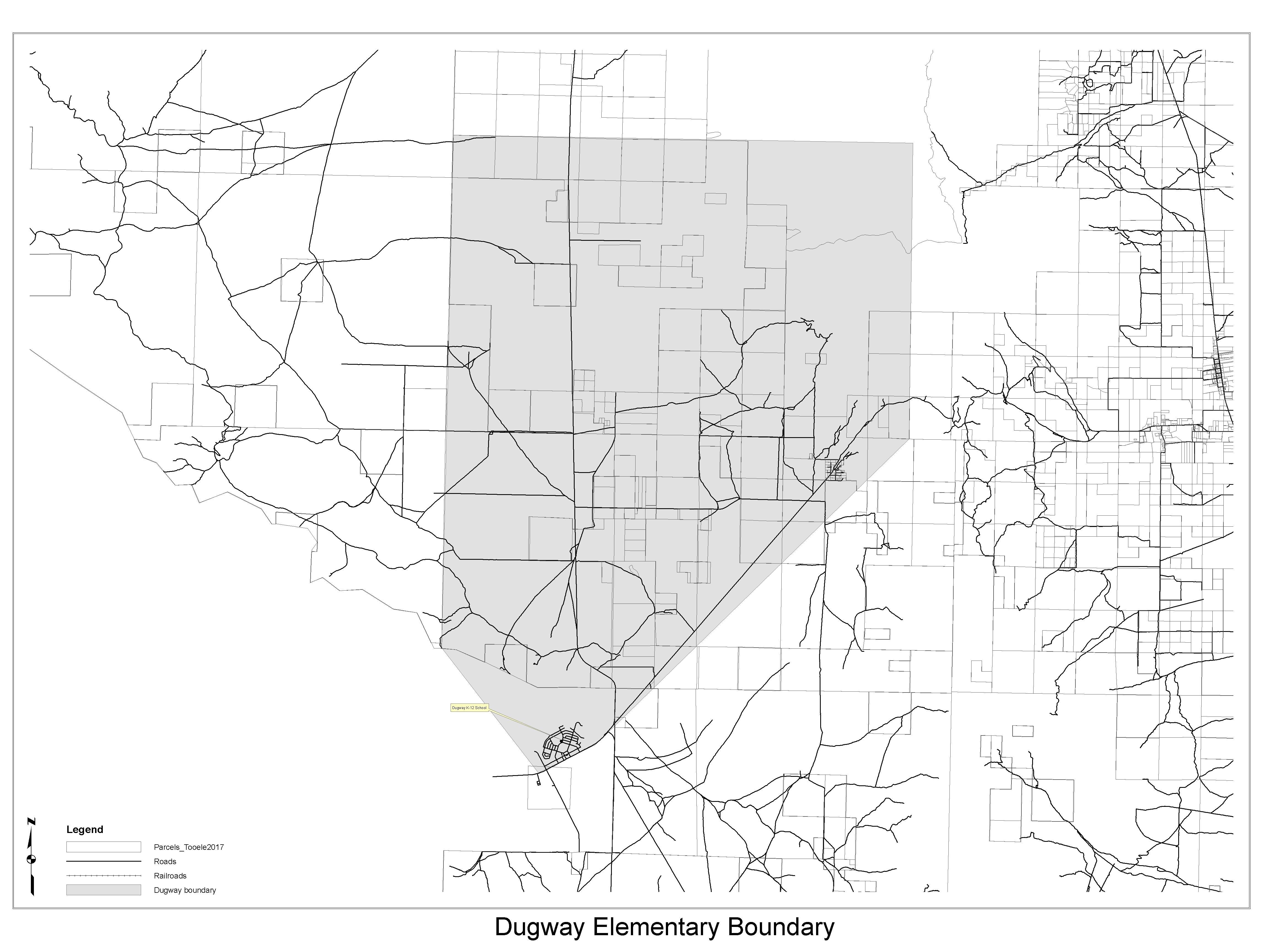 School Boundaries About Tcsd Tooele County School District