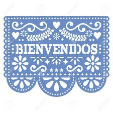 Image result for bienvenidos banner papel picado